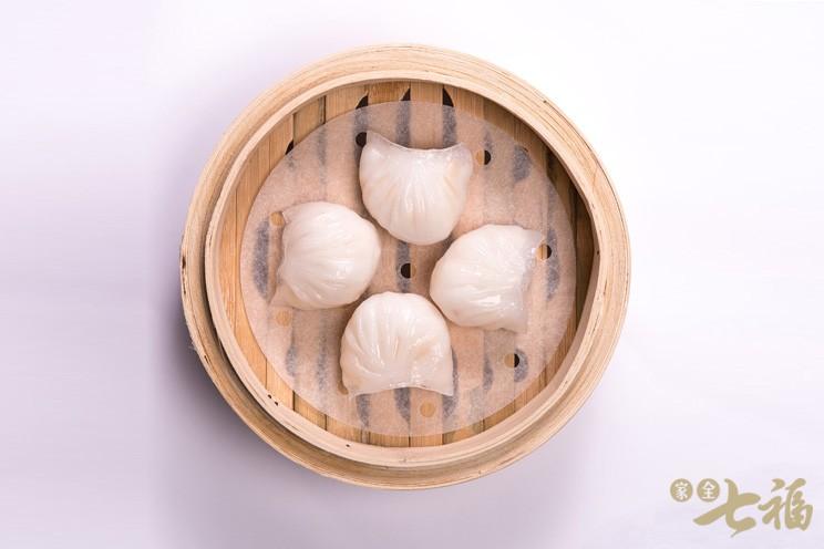 七福鮮蝦餃